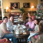 High Tea at the Hotel Merrion
