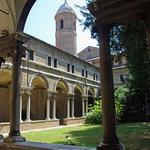 The cloister at San Vitale