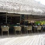 Restaurant des bungalows pilotis