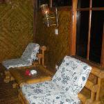 Het balkon van de jineng