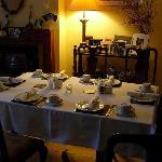 Il nostro tavolo della colazione