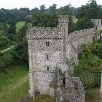 View from the keep of Arundel Castle