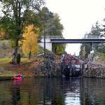 Vrangfoss locks - The Telemark Canal