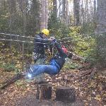 Training-test run of zipline