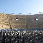 Caesaria theater - ancient structure where many modern concerts are held