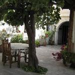 Courtyard at Aravan Evi