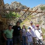 Carlos and the Geopark crew