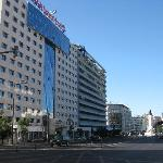 Front of hotel -Marques de Pombal square in background