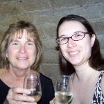 Mom and I at a wine tasting in Paris.  We learned a lot of cool stuff!