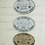back door plaques