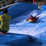 The FlowRider at Merton - the only one in the UK and for hotel guests only!