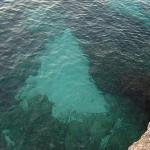 The ocean directly from our balcony..beauty awaited us directly below