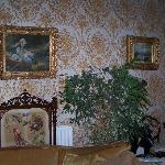 Interior of Flower House
