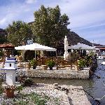 The fishing boat harbour Kissamos