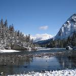 Bow Fall, Banff, Alberta