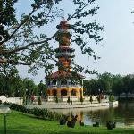Ho Withun Thasana at Bang Pa-In Palace