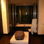 the bathroom at Twinpalms Phuket Resort in Surin Beach, Phuket