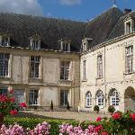 Château de Condé - détail de la façade sud