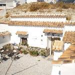 Courtyard from sun terrace