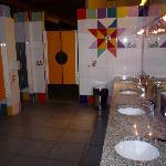 Baños comunes para niños.Una pocholada