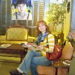"Sitting in the ""Livingroom"""