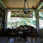 our veranda in the casuary room