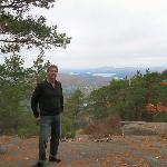 Saranac Lake From Baker Mountain