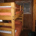 Cabin 4 bunk beds