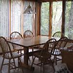 Kitchen w/casement windows