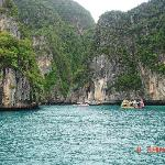Phi Phi Lay from the Boat