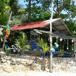 Private Beach fresh juice and fruit shake hut