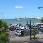 San Juan Bay from terrace