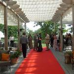 Deck for wedding