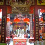 Chinatown walking tour: Sze Ya Temple.  Oldest Taoist temple in KL.