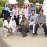 Tour in Khartoum's university