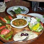 sampler-best hummus i've had
