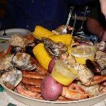 Gulf Shores Steamer & Grill Platter