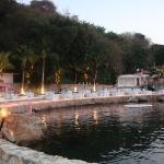 La concha de las Brisas del Hotel Brisas de Acapulco