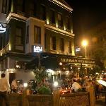 Sultan Saray Hotel & Restaurant at night