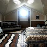 The top room - a beautifully converted attic