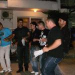 staff doing Turkish dance