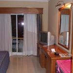 view for front door to balcony doors