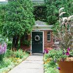 Front Door August Foliage