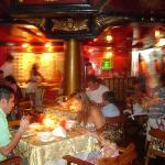 dentro del restaurante rococo