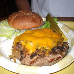 Famous CJ's Cheeseburger