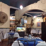 Cafe Del Pescatore's marine interior decor