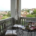 la terraza con vistas a florencia