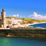 Porthleven on a sunny day
