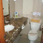 Twin Room toilet - Fine, just a little dark