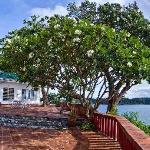 Main villa overlooking the sea